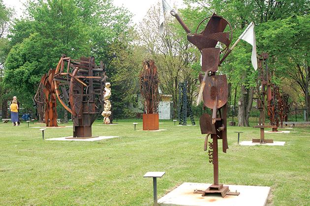 昨年夏にオープンした「City Sculpture Park」 Photo © Mirei Sato