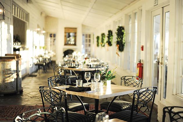 「Clifton Inn」併設のレストラン Photo courtesy of The Clifton Inn