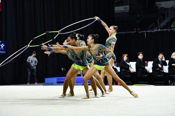 リオ五輪出場権を獲得した2015年9月の世界選手権での演技Photo Courtesy of John Cheng/USA Gymnastics