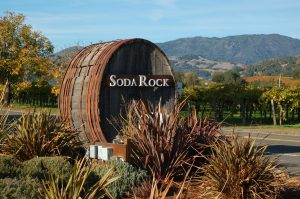 「Soda Rock Winery」の看板Photo © Mirei Sato