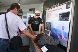 キラウエア火山のビジターセンターにある「Thomas A. Jaggar Museum」Photo @ Mirei Sato