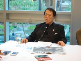 アパグループ代表、元谷外志雄氏現地時間9月6日に株式取得完了の記者発表が行われたCoast Coal Harbour Hotel(カナダ国ブリティッシュコロンビア州バンクーバー市)にて 本年11月15日にグランドオープンを予定https://www.apa.co.jp/newsrelease/6888