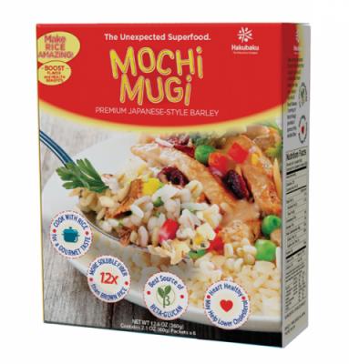 サラダやスープにも応用できるはくばくのMOCHIMUGI