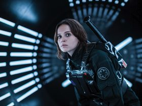 Rogue One: A Star Wars Story..Jyn Erso (Felicity Jones) ..Ph: Jonathan Olley..©Lucasfilm LFL 2016.