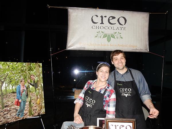 エクアドルのチョコレート農家の出会いから、家族経営のチョコレートメーカーになった「クレオCREO」は2014年創業。Photo © Michiko Ono Amsden