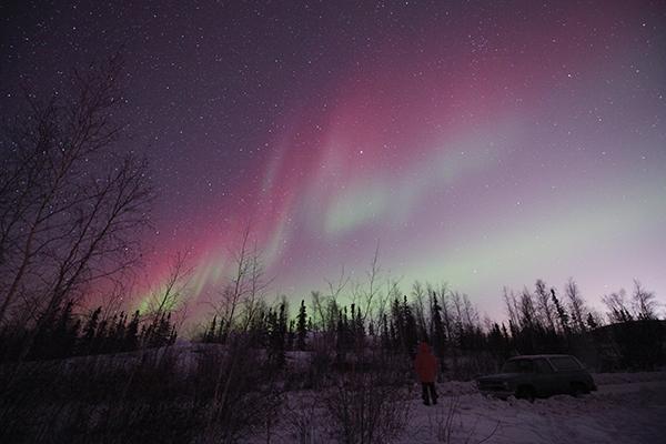 カナダのオーロラ©Yuichi Takasaka