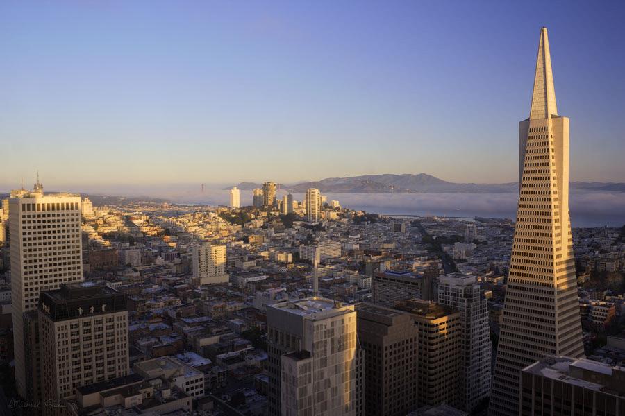 サンフランシスコの町並み