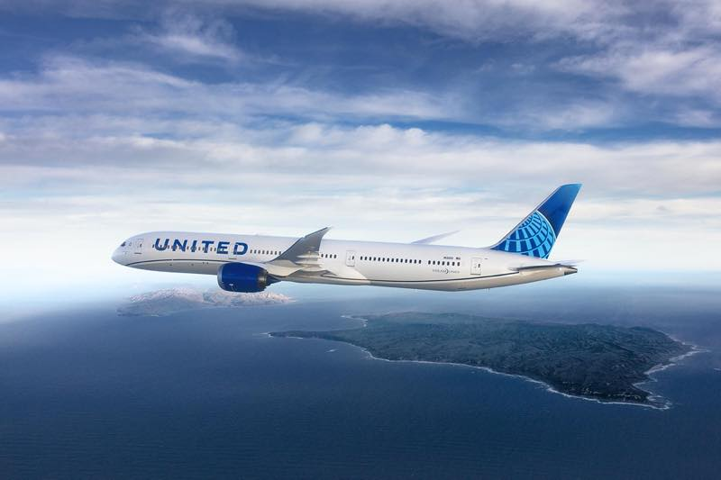 United Airline B787